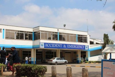 Kenyatta National Hospital in Nairobi.