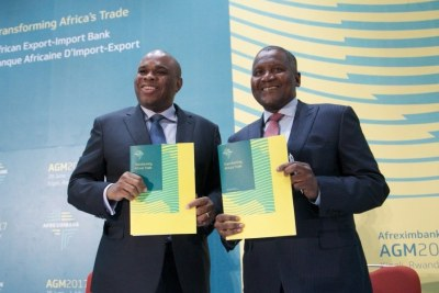 The MOU worth $1 billion represents a trail-blazing collaboration between Afreximbank President Dr Benedict Oramah and African magnate Aliko Dangote.