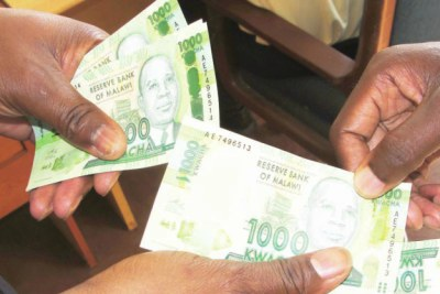 Malawian Kwacha (file photo).