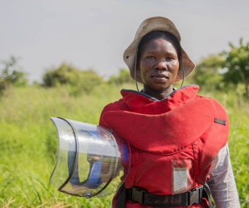 South Sudan's Deminers Brave Danger to Change Their Children's Future