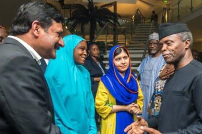 Malala visits Osinbajo.