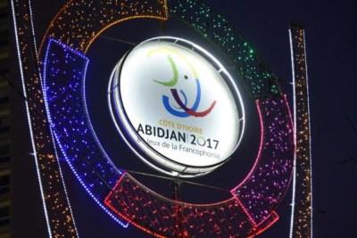 Logo des 8es Jeux de la Francophonie
