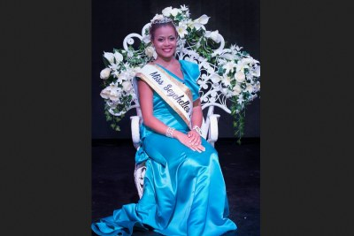 Hilary Joubert is Miss Seychelles 2017 and was also voted as Miss People's choice.
