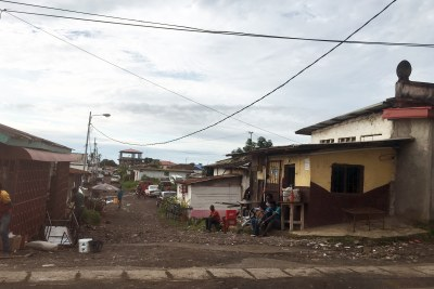 Many residential neighborhoods, including this one in Malabo, receive little or no government investment despite the massive outlays in public infrastructure for government buildings and other prestige projects (file photo).