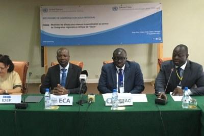 Réunion annuelle du mécanisme de Coordination Sous régional (MCSR) de CEA Afrique de l'Ouest avec les agences de l'ONU et les Communautés économiques régionales.