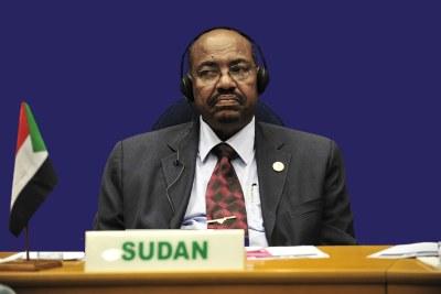 President Omar al-Bashir.