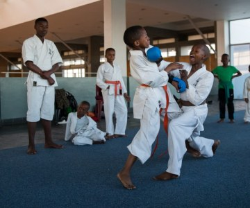 Karate Much More Than a Sport for Khayelitsha Kids