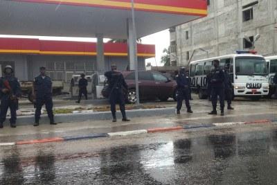 Liberia police (file photo).