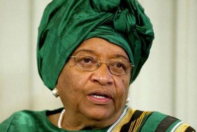 President Ellen Johnson Sirleaf.