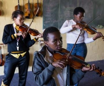 Meet Masiphumelele's Budding Violinists