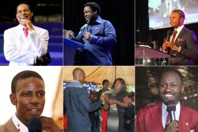 African pastors (file photo).