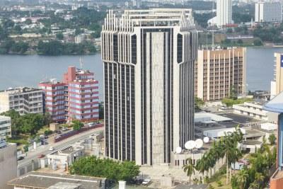 L'agence de la BCEAO à Abidjan