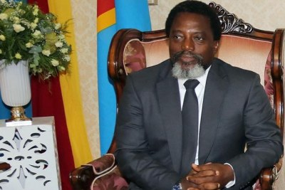 Presidents Joseph Kabila and Edgar Lungu.