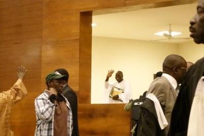 Khalifa Sall au Tribunal de Dakar