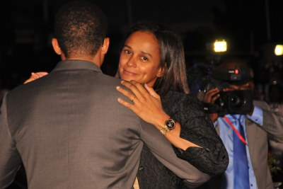 Isabel dos Santos (file photo).