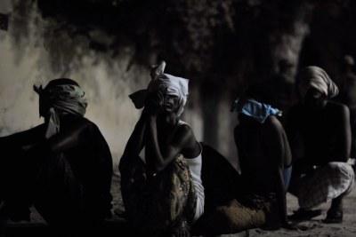 Enfants Somaliens détenus