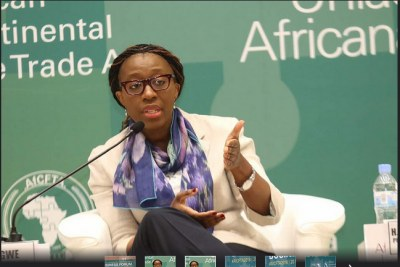 Forum des entreprises de l'AfCFTA ( Accord de libre-échange continental africain ).