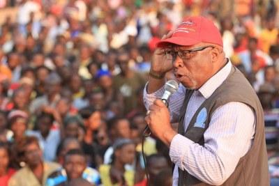 Former Vice-President Nevers Mumba (file photo).