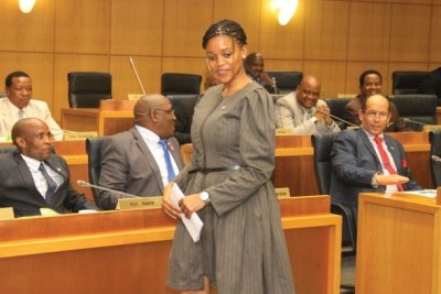 Botswana's new Minister of Investment, Trade and Industry, Bogolo Kenewendo. (file photo).