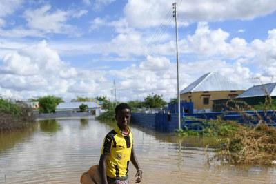 Flood in Belet Weyne Somalia