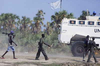 Fighting between government and opposition forces has intensified in Unity region in South Sudan