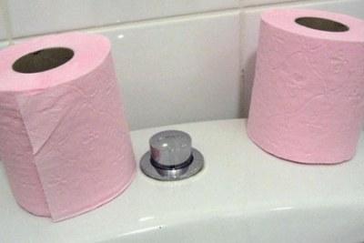 Bad toilet paper poses a health risk in Uganda.