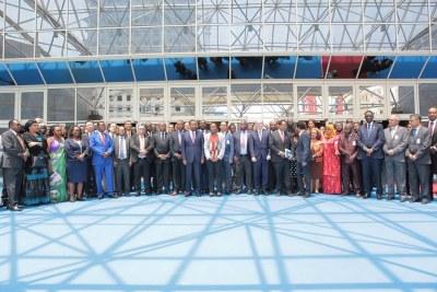 Ouverture de la 51ème session de la CEA et conférence des ministres africains des finances, de la planification et du développement économique, lundi 14 Mai 2018 à Addis Abeba