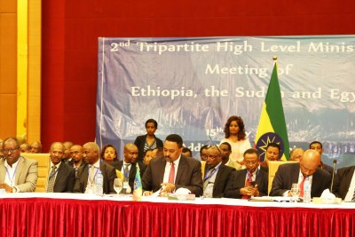 The 2nd Tripartite High Level Ministerial Meeting of Ethiopia, the Sudan and Egypt on the Great Ethiopian Renaissance Dam (GERD) opened earlier today (15 May 2018) at the Intercontinental Hotel, Addis Abebi.