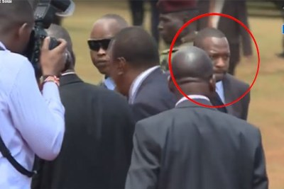 Lonely Mike Sonko (circled).