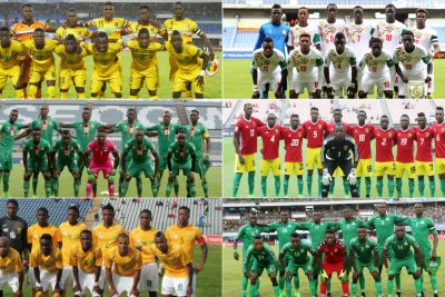 African teams (file photo).