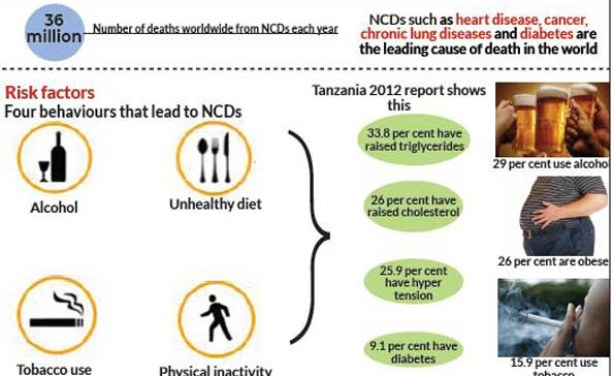 What Are Noncommunicable Diseases and Their Risk Factors