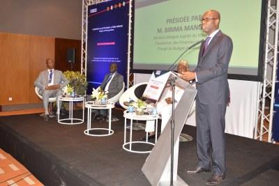 Ouverture officielle de la rencontre de Haut niveau sur le thème: « Commerce illicite dans la zone CEDEAO : enjeux et perspectives », le 26 Juin 2018 à Dakar