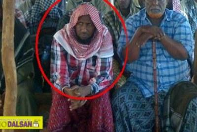 Un leader Al-Shabaab lAhmed Dirie Abu Ubeyda.