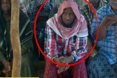 Le dirigeant d'Al-Shabaab, Ahmed Dirie Abu Ubeyda.