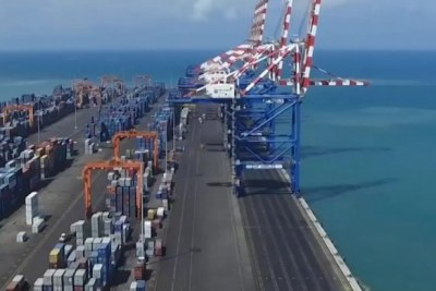 The Ports of Djibouti serve as a key refueling and transshipment center and is the principal maritime outlet for imports to and exports from neighboring Ethiopia (file photo).