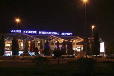Julius Nyerere International Airport in Tanzania.