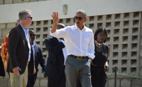 Obama's Short Visit Leaves Some Kenyans Sour