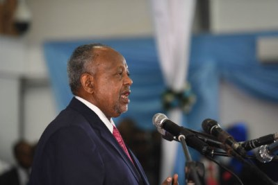 President of Djibouti Ismail Omar Guelleh.