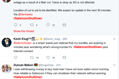 Safaricom Down - When Kenyans Get Mad, They Get Funny