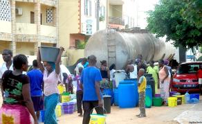 Pénurie d'eau à Dakar, la capitale sénégalaise