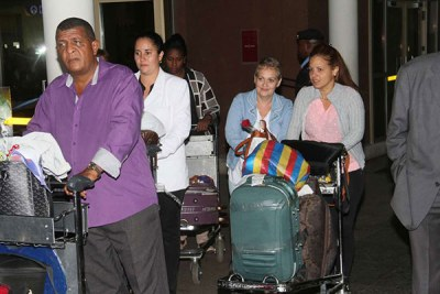 Doctors from Cuba arrive in Kenya (file photo).