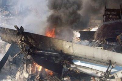 Crash d'un avion à Bingerville, en Côte d'Ivoire