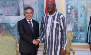 Première visite d'Etat du président du Faso en Chine