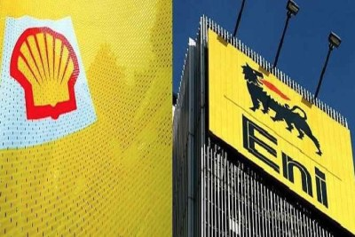 Shell, ENI oil companies