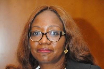 Mme Marie Laure Akin-Olugbade, directrice générale du bureau régional de développement et de prestation de services pour l'Afrique de l'Ouest de la BAD.