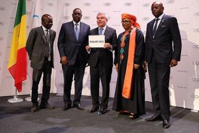 Officialisation de l'organisation des Jeux Olympiques de la Jeunesse (JOJ), #Dakar2022
