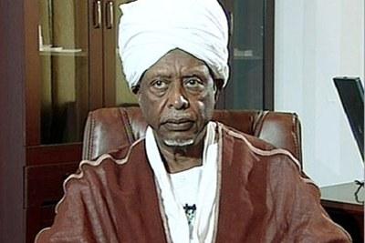 Former Sudanese President Suwar Al-Dahab