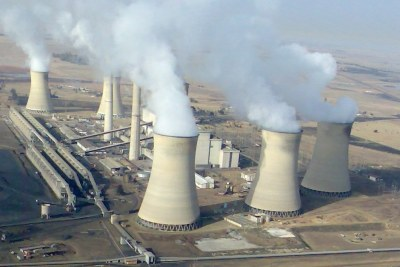 Arnot Power Station, Middelburg, Mpumalanga.