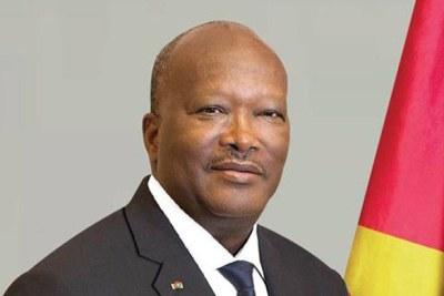 Le Président du Burkina Faso, M. Roch Marc Christian Kaboré