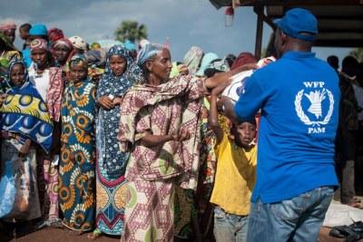 Le Programme alimentaire mondial (PAM) a besoin d'un financement d'urgence pour fournir une assistance vitale à 150.000 personnes déplacées en République centrafricaine (RCA).